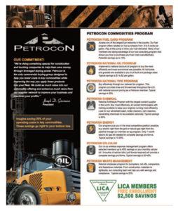 Petrocon Commodities Program