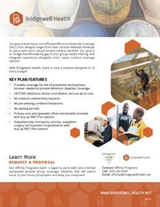 Brand New Bridgewell Health Benefit a/o October 2020