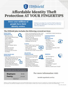 ID Theft  -Protection at your Fingertips